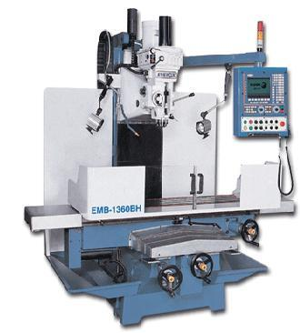 Heavy Duty CNC Milling Machine EMB-1360BH