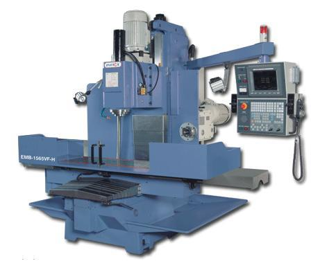 Heavy Duty CNC Milling Machine EMB-1565 VF-H