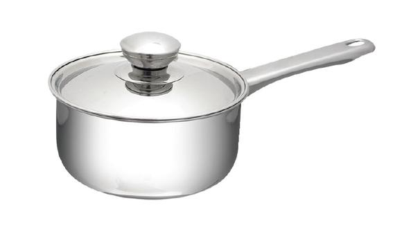 Saucepan with Stainless Steel Lid