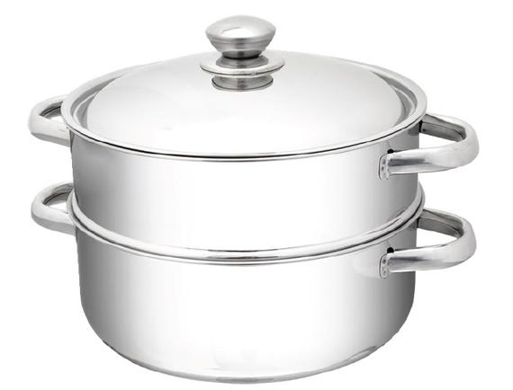 2- Tier Steamer with Stainless Steel Lid