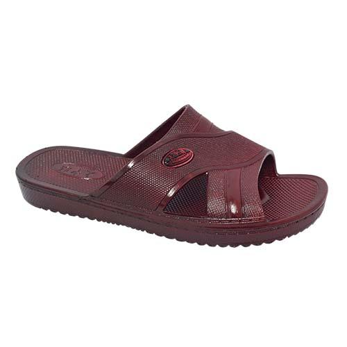 Men PVC Slipper (P 806-BN) Brown