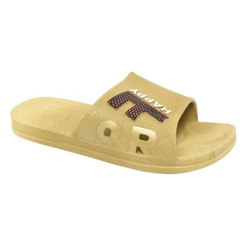 MEN PVC SLIPPER (P 1701-KH) KHAKI