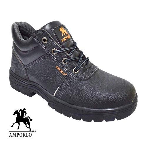 Amporlo - Safety Shoe (V AM929-6 BK) Black