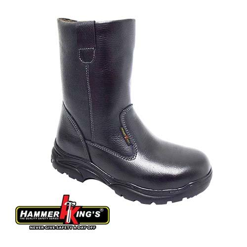 HAMMER KING - SAFETY SHOE (HK 13011-BK) Black