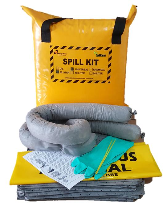 SpillKlean™ 30 PORTABLE GENERAL PURPOSE SPILL KIT