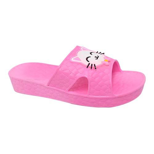 PVC Women Slipper (P 525-P) Pink