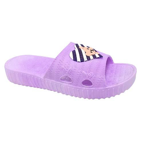 PVC Women Slipper (P 1718-PR) Purple