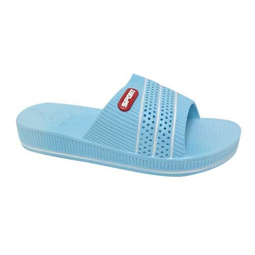 PVC Women Slipper (P 1733-B) Blue