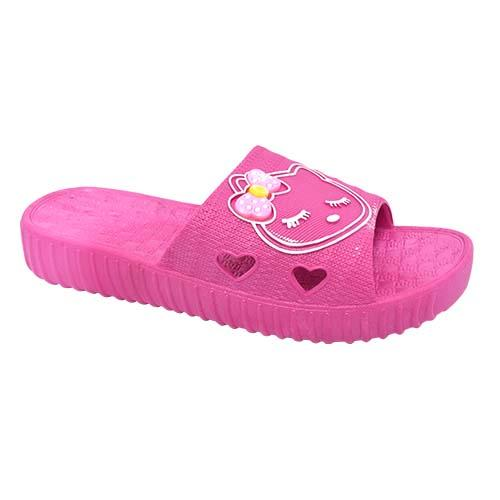 PVC Women Slipper (P 7218-FU) Fuchsia