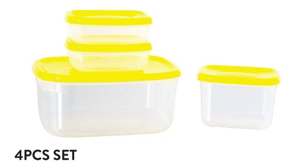 Fresh Air Tight Food Container 4pcs Set