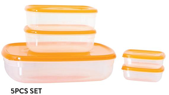 Fresh Air Tight Food Container 5pcs Set