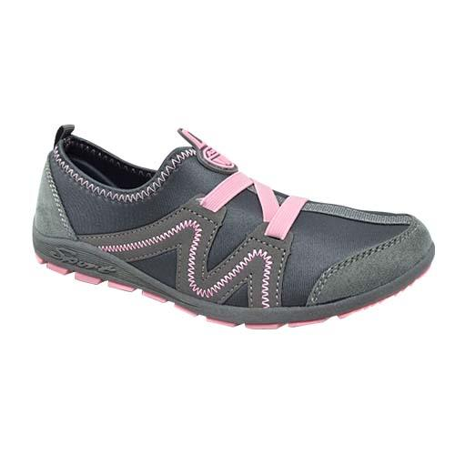 Ladies - Azer Sport Shoe (S 8261-GY/P) GREY PINK