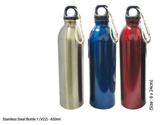 Stainless Steel Bottle 1-650ml