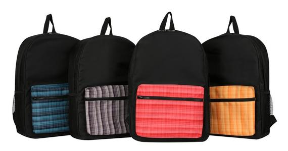 Checkered Backpack (B300)