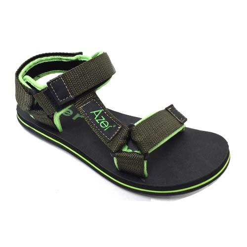 Azer - Men PP Tape Sandal (B 7070) Green
