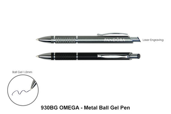 OMEGA - Metal Ball Pen (Ball Gel Ink)