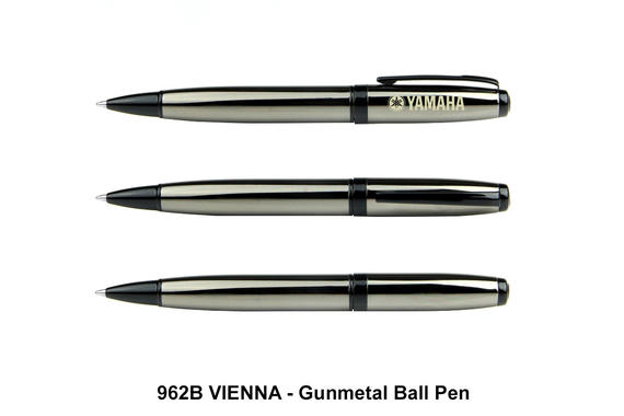 VIENNA - Gunmetal Ball Pen