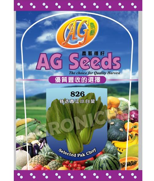 826 Selected Green Pak Choy