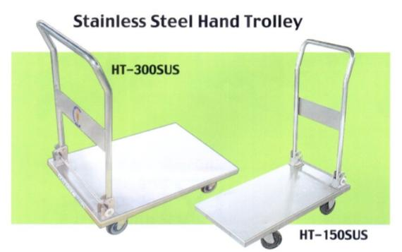 Stainless Steel Hand Trolley