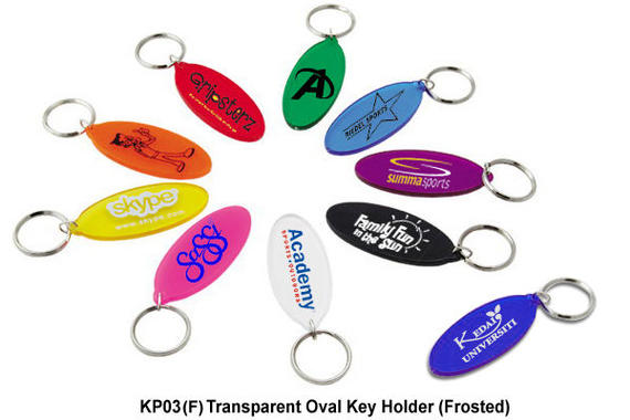 KP03(F) - Transparent Oval Key Holder
