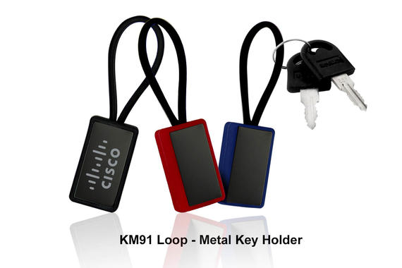 KM91 - Loop -Metal Key Holder
