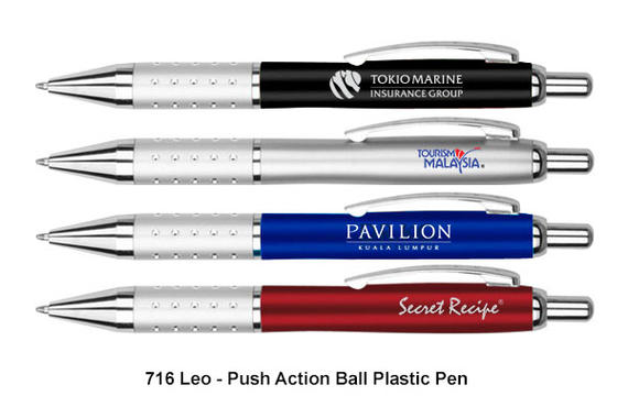 716 LEO - Plastic Ball Pen