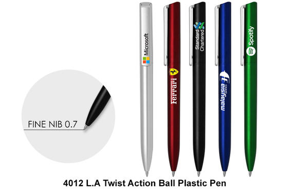 L.A. - Plastic Ball Pen