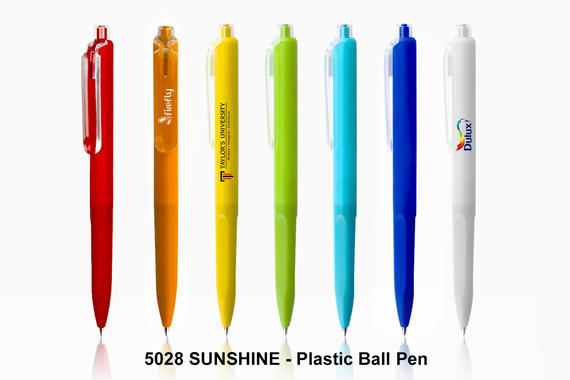 SUNSHINE - Plastic Ball Pen