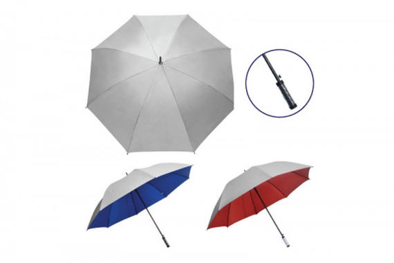 "Silver Top 30"" Gold Umbrella"