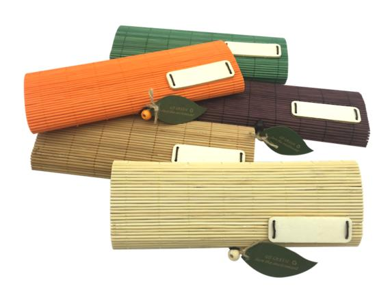 GP123 Bamboo Pencil Case