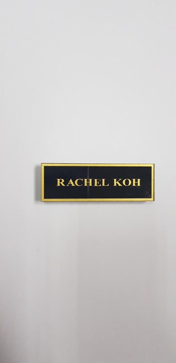 Color Name Tag / Employee Tag