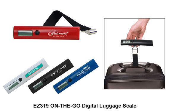 EZ319 ON-THE-GO Digital Luggage Scale