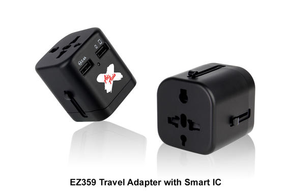 EZ359 Travel Adapter with Smart IC