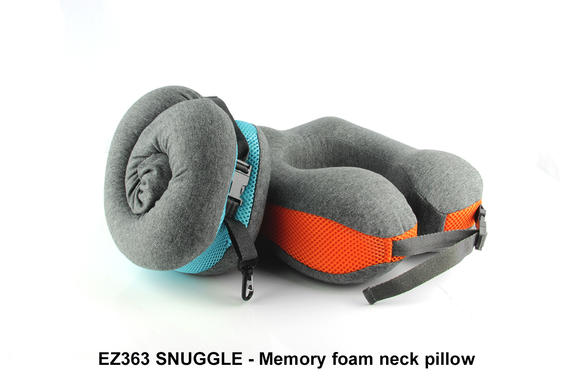 EZ363 SNUGGLE - Memory Foam Neck Pillow