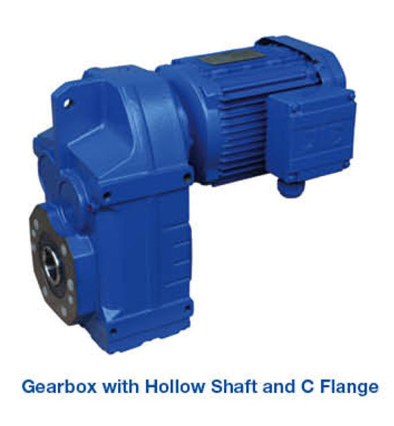 Gearbox - Hollow Shaft & C Flange