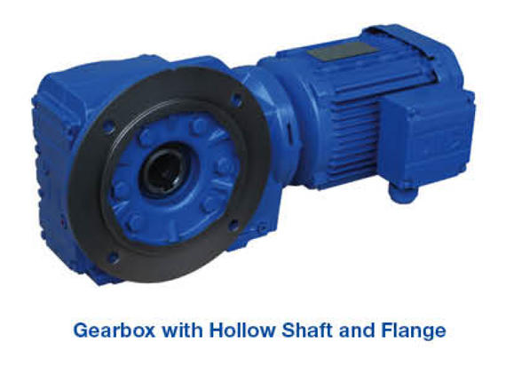 Gearbox - Hollow Shaft & Flange
