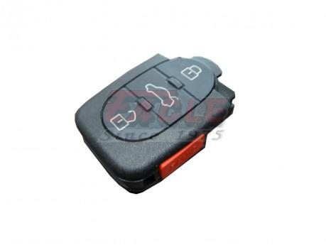 AUDRK000141 Audi 3+1 Button Remote 4D0 837 231 E