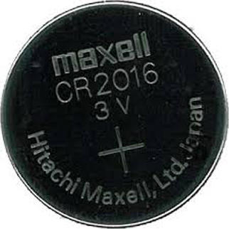 MAXBA002016 Maxell Battery CR2016