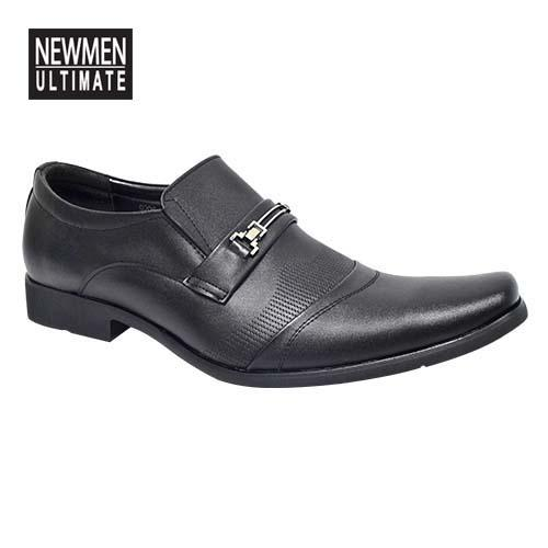NEWMEN - Men Executive Shoe (MS 9206) Black