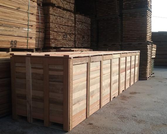 Wooden Crates and Wooden Boxes