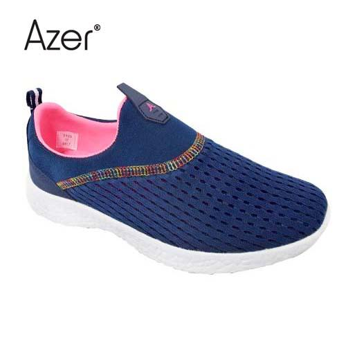 Azer Sport Shoe (S 7120-NY/OR) Navy/Orange