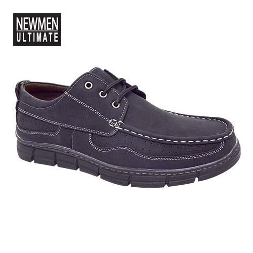 NEWMEN - Men Casual Shoe (MS 9201-BK) Black