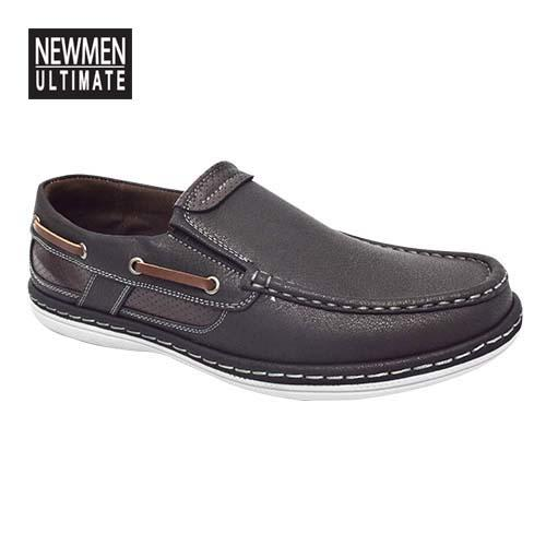 NEWMEN - Men Casual Shoe (MS 9204-BK) Black