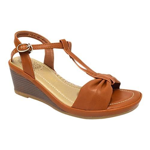 Azer - Ankle Strap Wedge Ladies shoe (90-719)