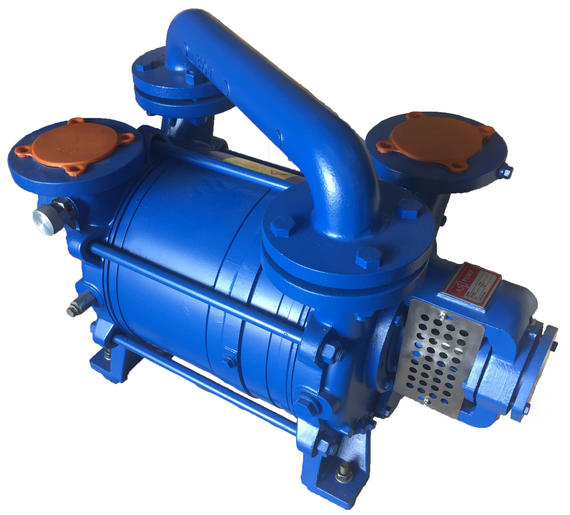 DOUBLE-STAGE LIQUID RING VACUUM PUMP