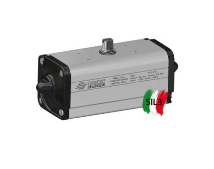 OMAL aluminium double acting pneumatic actuator DA type