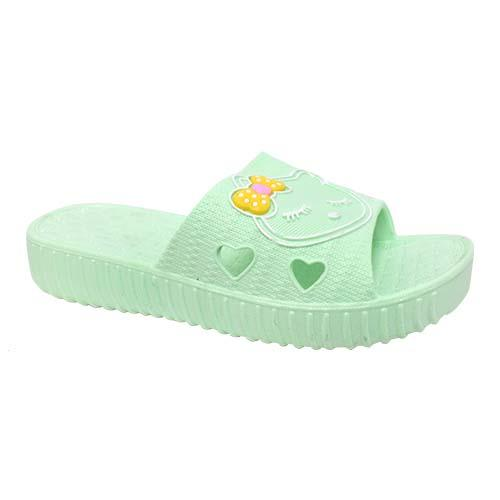 PVC Women Slipper (P 7218-G) Green