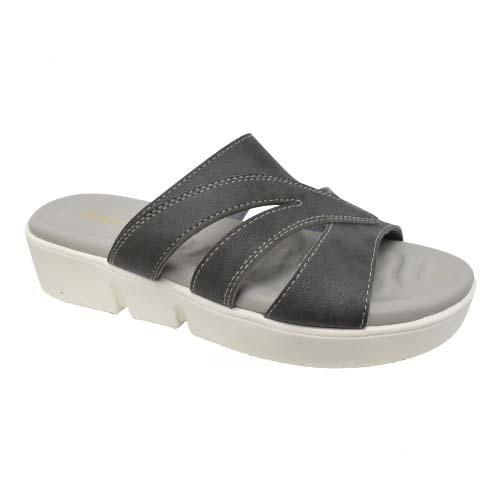 AZER - LADIES FLAT SANDALS (19-1164 GY) GREY