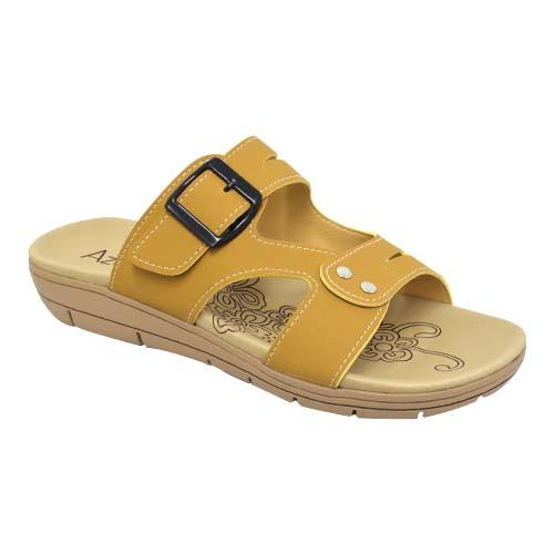 AZER - LADIES FLAT SANDALS (76-14178 PE) PEACH