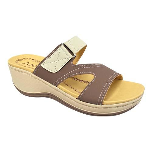 AZER - LADY COMFORT WALK SHOE (76-13181 AL) ALMOND